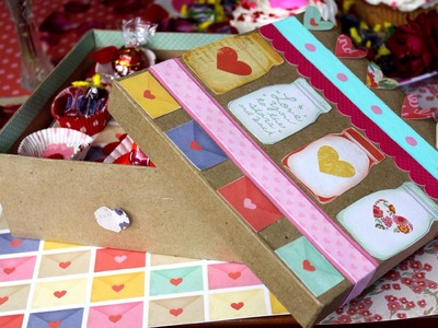DIY Valentine's Day Gift Box
