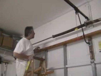 DIYClinic - Garage Door Torsion Spring Replacement (Part 1)