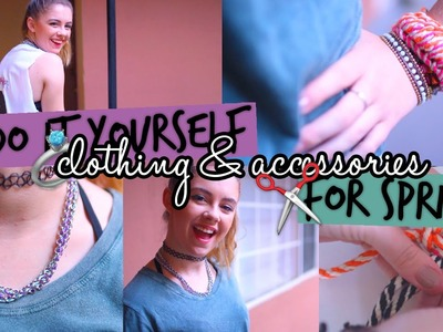 Easy DIY Spring Clothing & Accessories. Tumblr Inspired