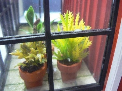 Easy Plants For the Dollhouse