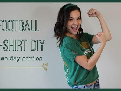 Football T-Shirt DIY | Game Day Series
