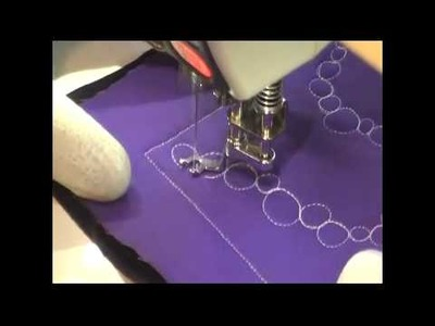 Free Motion Quilting Video: Barrier Reef