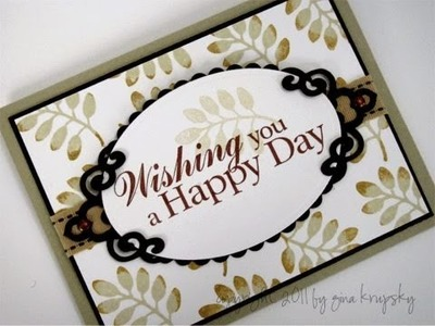 Happy Day Card Project