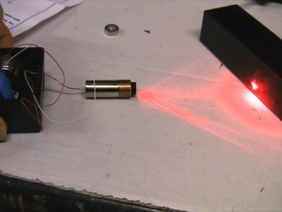 Homemade 250mW Burning Red Laser