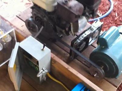 Homemade induction generator