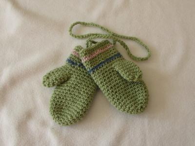 How to crochet EASY children's mittens for beginners