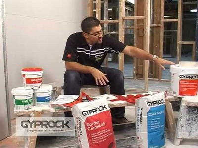 How to install Gyprock Part 3 - Setting Plasterboard Joints
