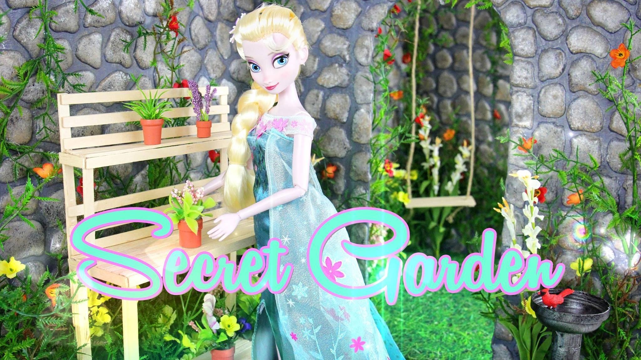 How to Make a Doll Secret Garden - Doll Crafts