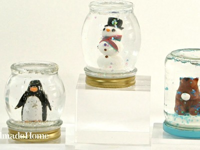 How to Make a Homemade Snow Globe - Martha Stewart