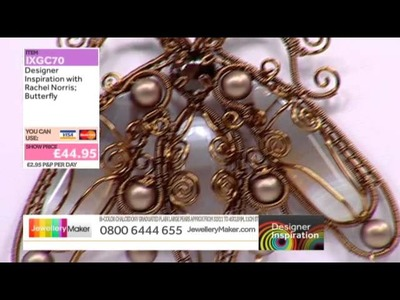 [How to make a Wirework Butterfly] - JewelleryMaker DI 1.2.15