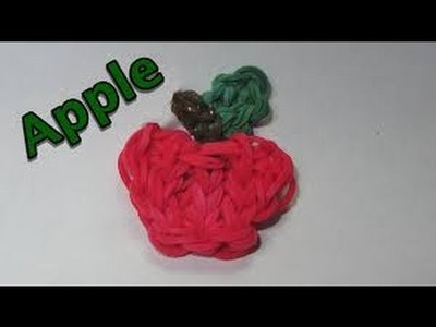 How To Make An Apple | Rainbow Loom