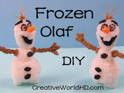 How to Make Snowman Frozen Olaf Figurine - 3D Printing Pen Creations DIY Tutorial by Creative World