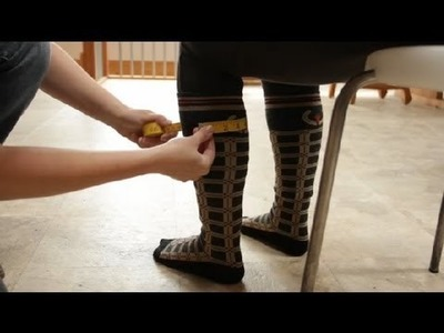 How to Measure for Tall Equestrian Boots : Equestrian Information