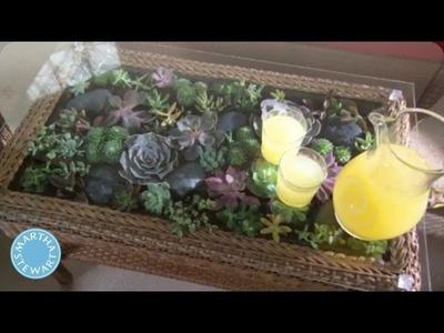 Learn & Do: How to Make a Terrarium Coffee Table - Home How-To Series - Martha Stewart
