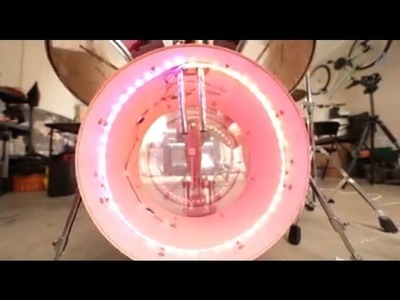 LED Drum Set - Mod Your Drums to React to Sound