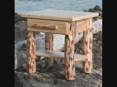 Log Furniture Video by Montana.wmv