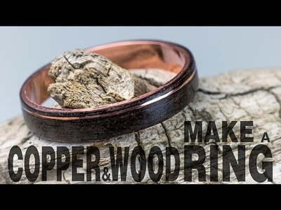 Make a Copper & Wood Ring