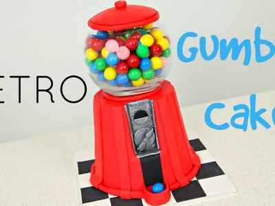 Make a Vintage Gumball Cake - CAKE STYLE