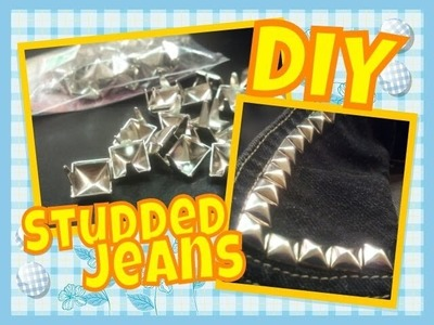 Make your own STUDDED JACKET