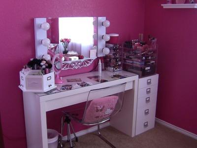 New Makeup Room Tour!!!