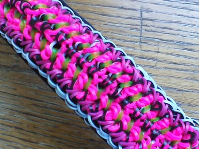 NEW Rainbow Loom Jockey Bracelet