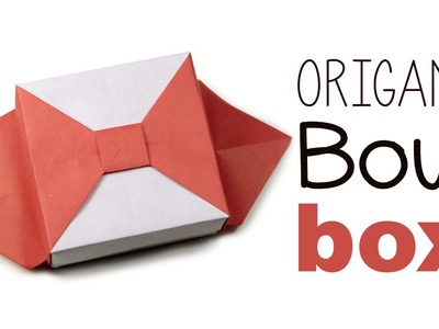 Origami Bow Box V2 Tutorial