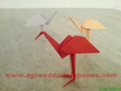 Origami - Garça