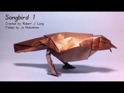 Origami Songbird 1 (Robert J. Lang)