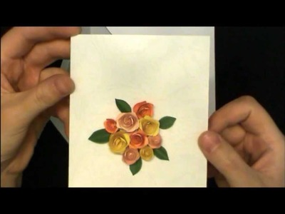 Quilling Tutorial - Quilled Roses