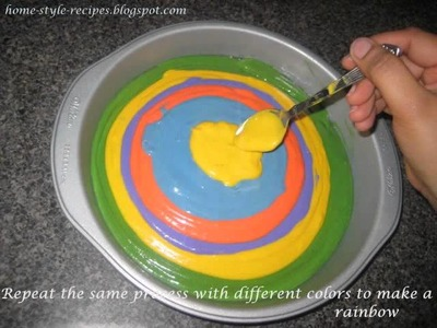 Rainbow Cake (Share-A-Recipe)