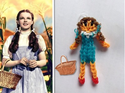 Rainbow Loom Dorothy Wizard Of Oz Tutorial