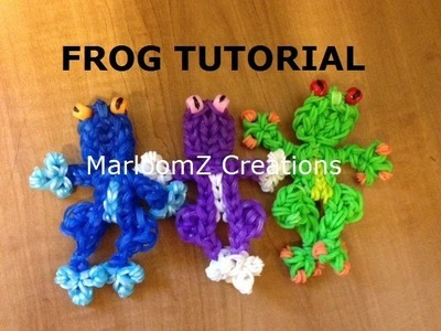 Rainbow Loom Frog Charm tutorial