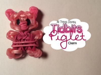 Rainbow Loom Piglet Charm | Tidbits Series