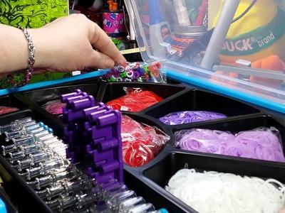 Rainbow Loom Valentine Kit - Unboxing