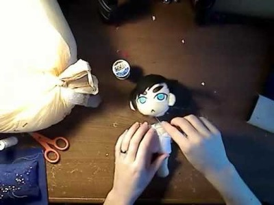 Sakky's How to Put a Plushie Head Together Tutorial - Part 2