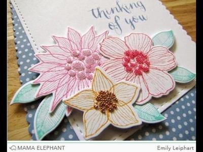 {Simon Says Stamp + Mama Elephant} Summer Garden Blog Hop