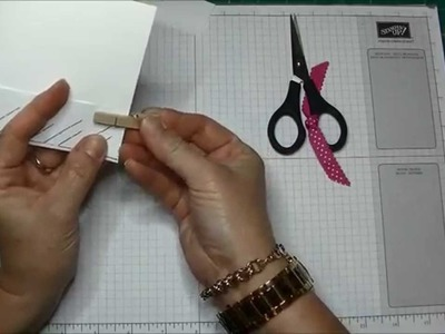 Stampin' Up! Braided Card Tutorial