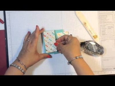 Stampin' Up! Video Tutorial Easy Post It Note Holder