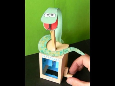 The Snake, a movable paper model