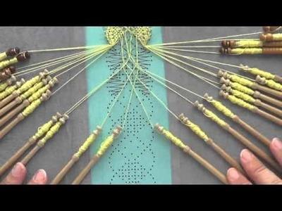 Video #123 Bobbin lace bookmark tutorial