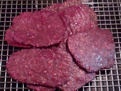 World's Easiest Beef Jerky! No Jerky Gun? No Smoker? No Dehydrator? No Problem!