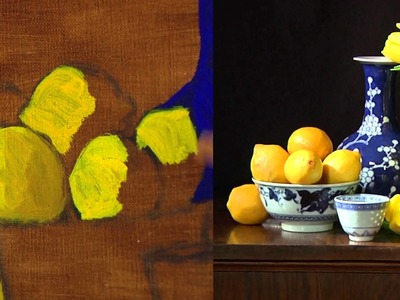 Art of Painting Flowers in Oil with Claudia Seymour