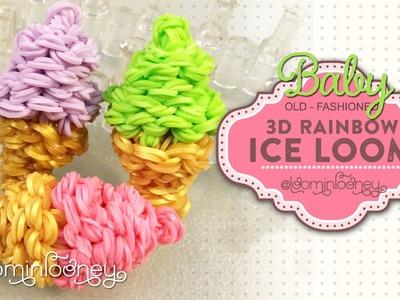 Baby Soft Serve: 3D Rainbow Ice Loom Series