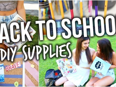 Back To School. DIY Tumblr Inspired School Supplies + GIVEAWAY