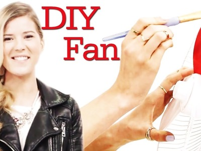 Brave Summer Heat With A DIY Fan with Meghan Rosette! #17Daily