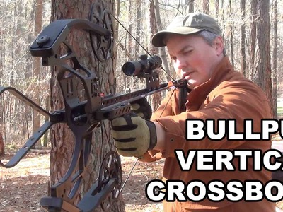 Bullpup Vertical Crossbow! Fast, Accurate, and Maneuverable