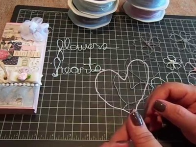 Create Flowers and Hearts with the New Prima Wire Threads