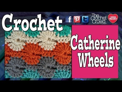 Crochet - 1 Catherine Wheel Stitch  - Starting A Blanket