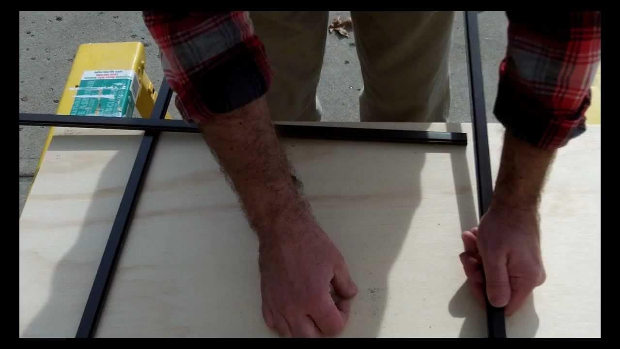Custom Window Screens: How to Build the Screen Frame -- by Home Repair Tutor