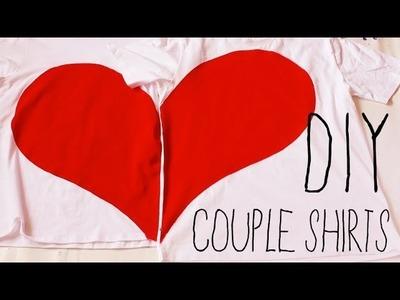 ♡ DIY Couple Shirts ♡